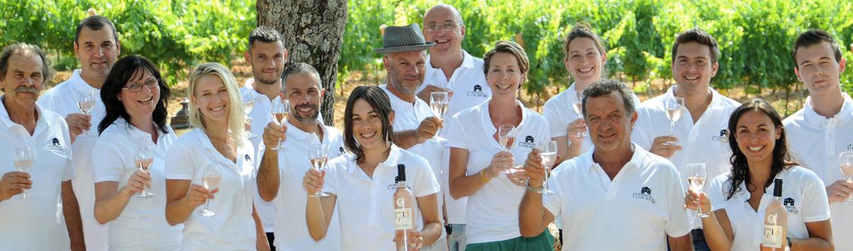 Découvrez le domaine viticole du Var, Château de l'Escarelle