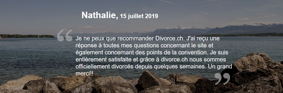 La convention de divorce suisse est la clef du divorce à l'amiable